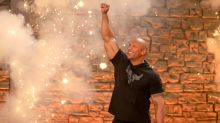 Dwayne 'The Rock' Johnson's front gate wouldn't open, so he ripped it off