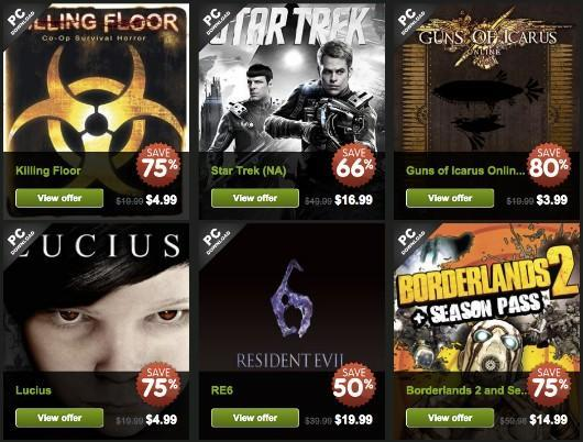 Green Man Gaming has six games on sale every six hours for six days