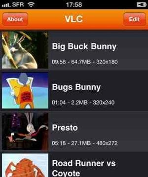 Grab your iOS version of VLC now... it may be gone soon