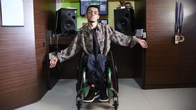 Hip-hop artist Wheel Smith preps for his biggest gig yet