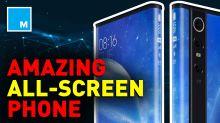Xiaomi's Mi Mix Alpha phone has a 180 percent wraparound screen