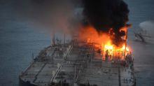 Sri Lanka navy says no real risk of spill on stricken supertanker