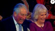 Le prince Charles et Camilla s'amusent bien avec Kylie Minogue, Cheryl et Dynamo