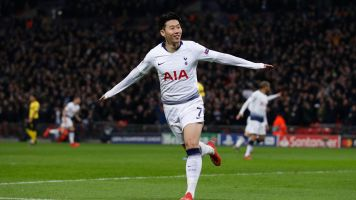 Tottenham routs Dortmund in big UCL win