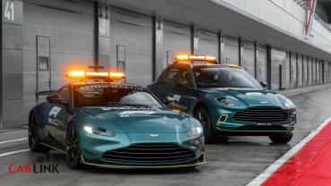 F1終於換車啦!Aston Martin Vantage與DBX將是新賽季的safety 與medical car