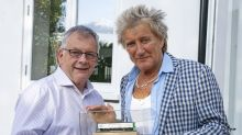 Rod Stewart admits model railway 'addiction' as he unveils 26-year project for first time