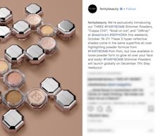 Fenty Beauty is here to help you shimmer into the holiday season