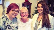 Cheryl drops everything to visit a fan's sick mum