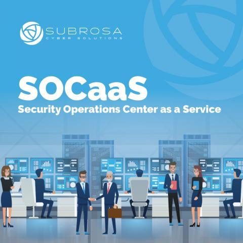 Cybersecurity SOC As A Service Scalable Affordable Business Protection Launched