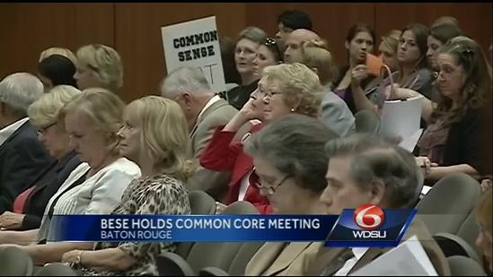 BESE hears concerns about Common Core standards