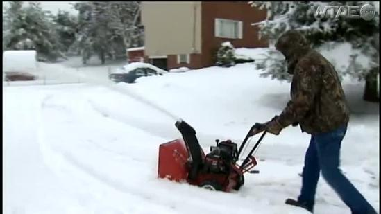 Shovel or snow blower? Residents weigh in