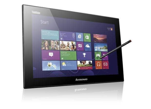 Lenovo announces the ThinkVision LT1423p, a mobile touchscreen monitor with pen support (video)