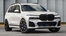 Au secours, le BMW X7 restylé pourrait ressembler à ça