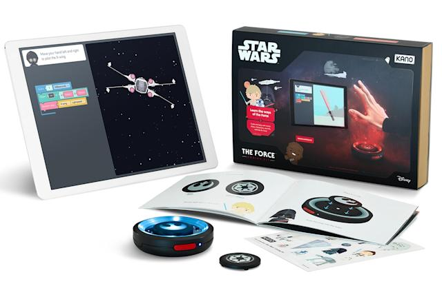 Kano's latest coding kit is a Star Wars-themed motion sensor