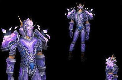 Armor sets page updated