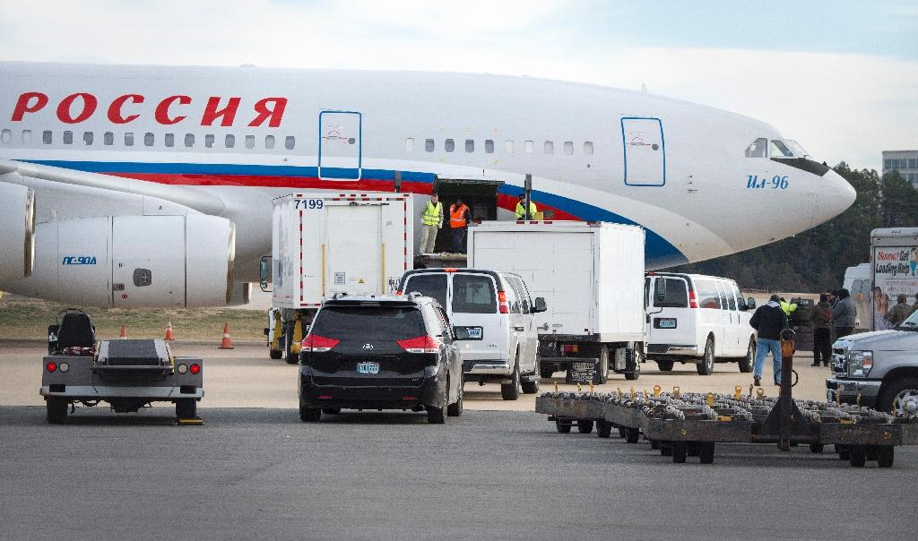 Cargo performance is an indicator for coming passenger traffic - and it's not looking too good (AFP Photo/PAUL J. RICHARDS)