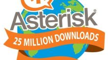 Asterisk Celebrates 25 Million Downloads