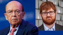 Why did right-wing troll Charles C. Johnson meet with Commerce Secretary Wilbur Ross?