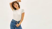 Everlane's new jeans are their highest rise ever — and they also might be the most flattering ever