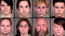 Portland police arrest 15 alleged Antifa rioters after Democrat HQ attacked