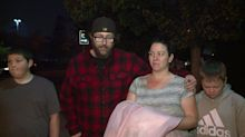 Bride's wedding dress saved before home tragically burned down in California's Camp Fire