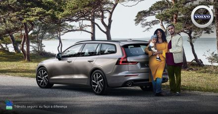 Volvo V60. Protege o que é importante para você.