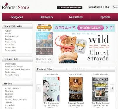 Sony launches web store for e-Books, Android app also gets refresh
