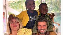 Fofura no feed: os momentos doces da família Ewbank + Gagliasso