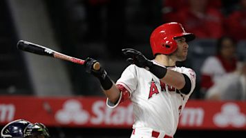 Meet the Angels infielder who has surprisingly out-homered Mike Trout