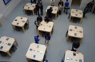 Photos from the new Amsterdam Apple Store opening