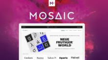 Monotype Opens Mosaic to Allow the Addition of Third-Party Fonts, Further Improving the Design Workflow for Enterprises and Agencies