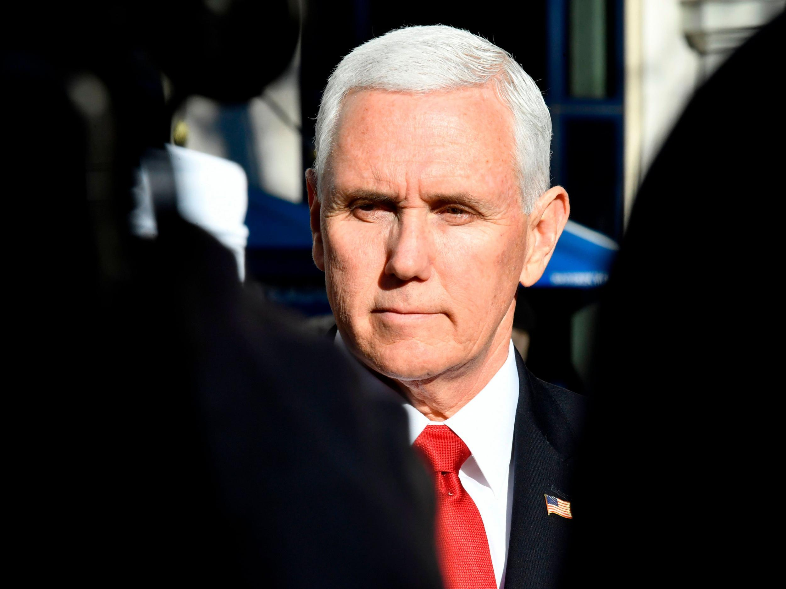 VP Pence abruptly cancels New Hampshire trip