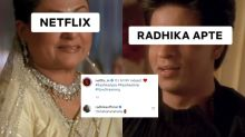 Netflix Goes Full Bollywood to Welcome BFF Radhika Apte's Return on OTT With 'Raat Akeli Hai'