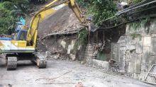 通往鳩之澤道路坍方 周六搶通溫泉區恢復營業