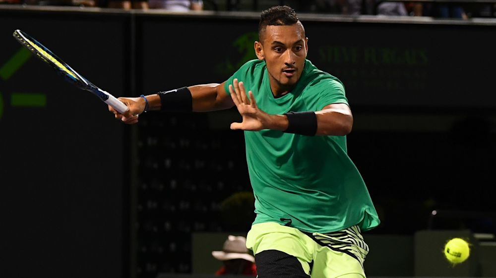 Nick Kyrgios gets another chance at Roger Federer, this time in Miami Open semis