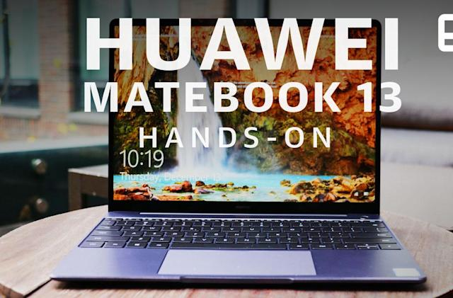 Huawei MateBook 13 hands-on: A powerful, pretty MacBook rival