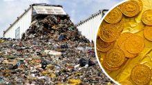 Mann fleht Gemeinde um Hilfe an: Bitcoin im Wert von 235 Mio. Euro im Müll entsorgt