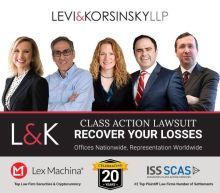 CLASS ACTION UPDATE for ACAD, EBS and ATER: Levi & Korsinsky, LLP Reminds Investors of Class Actions on Behalf of Shareholders
