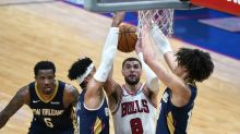 LaVine's 36 points lift Bulls past Pelicans 128-124