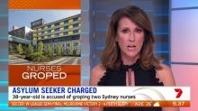 Asylum seeker allegedly groped two nurses after being transferred from Nauru to Australia