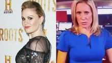 Anna Paquin reveals it was her breasts on BBC News
