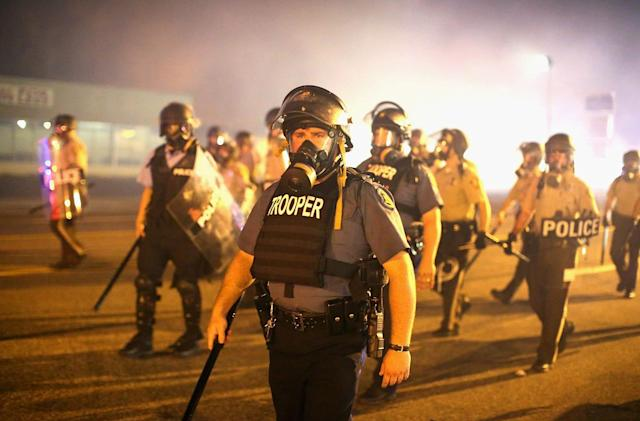 ACLU: Police use Twitter, Facebook data to track protesters