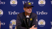 Jim Harbaugh's Michigan football news conference: Live updates at noon