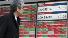 Asia shares lower, most markets closed for Lunar New Year