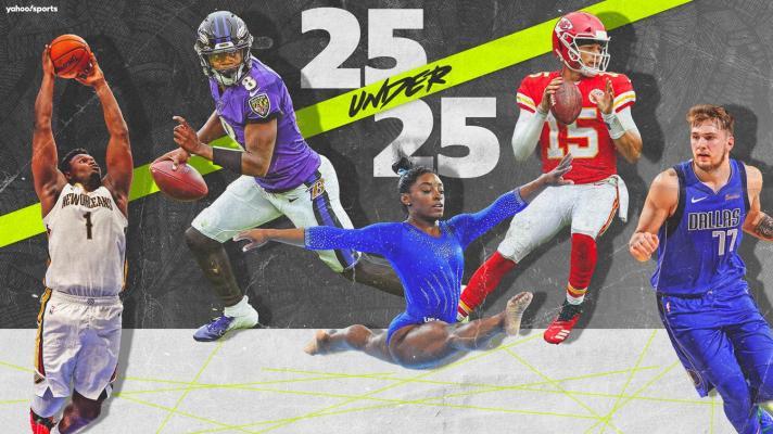 Yahoo Sports' 25 athletes under 25 – Nos. 1-5