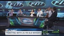 A 25-year old whisky toast to CNBC