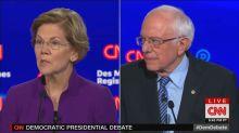 #CNNisTrash trending for perceived bias against Bernie Sanders at Democratic debate