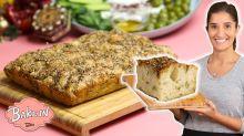 How To Make Crispy Za'ater Focaccia Bread