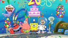 "Nickelodeon Marks 20 Years of SpongeBob SquarePants with the ""Best Year Ever"""