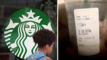Starbucks Barista Mocks a Man's Stutter